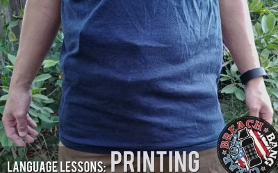 Language Lessons: Printing