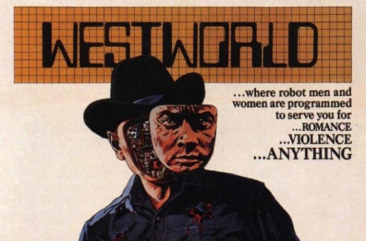 "1973 sci-fi movie starring Yul Brynner as ""The Gunslinger"""