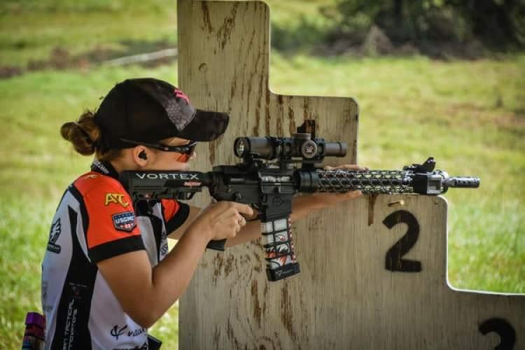 Cheyenne Dalton is a fierce competitive shooter.