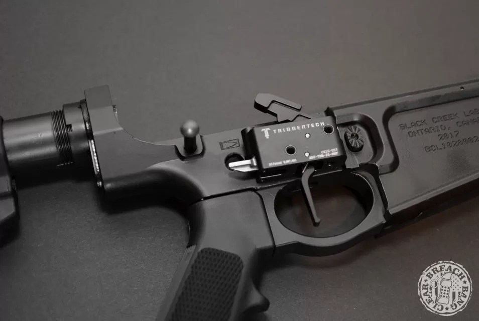 Trigger Tech trigger in a BCL rifle.