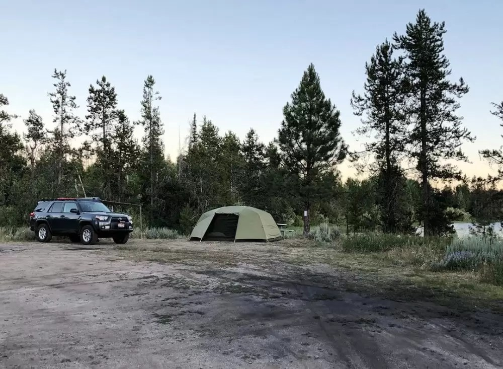 Overland camping is best done with overlanding gear!