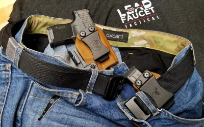 Report | Adaptiv X V2DX Rendition Low-Viz Denim Jeans & Carbon Tactics EDC Belt