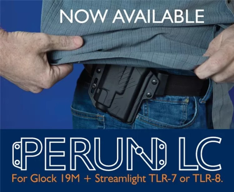 Raven Concealment Systems Perun LC 19M with Streamlight TLR-7 or TLR-8