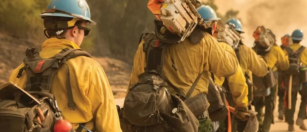 Mystery Ranch packs in service with firefighters