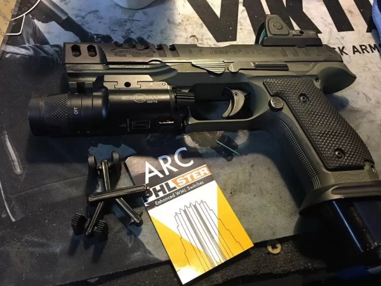 Bill Blowers of Tap-Rack-Tactical on the ARC weapon light switch