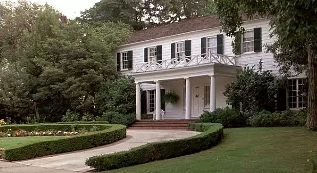 He wasn't a veteran, but maybe his dad was: it's Ferris Bueller's house!