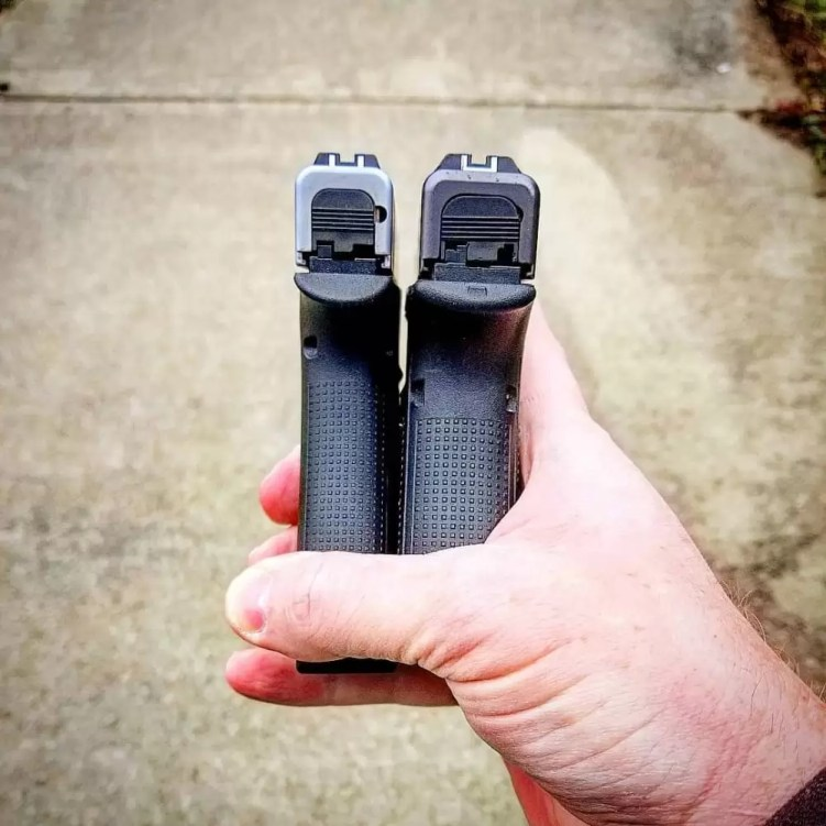Glock 43X review and Glock 48 comparison - a discussion of use, concealability, practicality, and other concerns