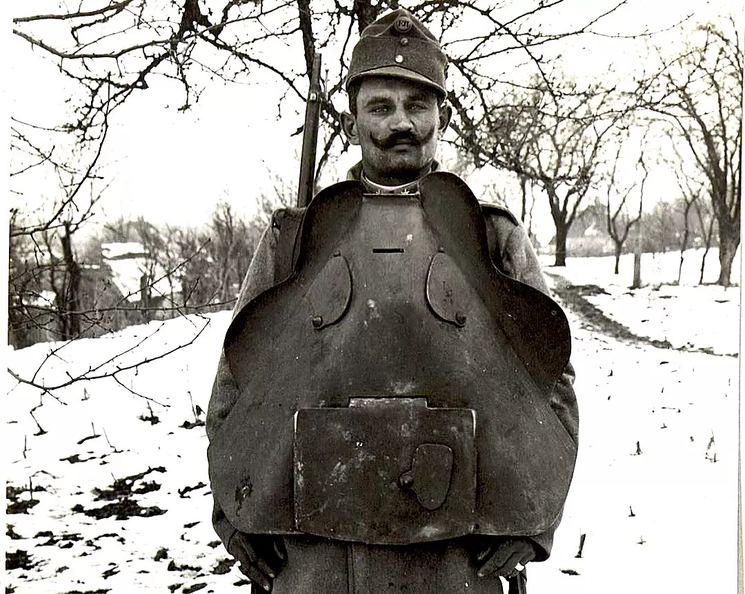 Austro-Hungarian armor from WWI