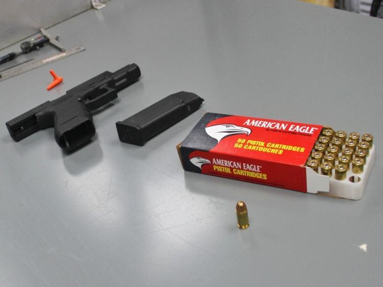 Ballistic testing of Safariland body armor using American Eagle ammunition.