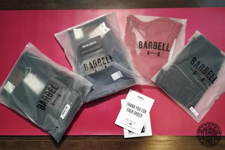 Barbell Apparel jeans, leggings and sports bra