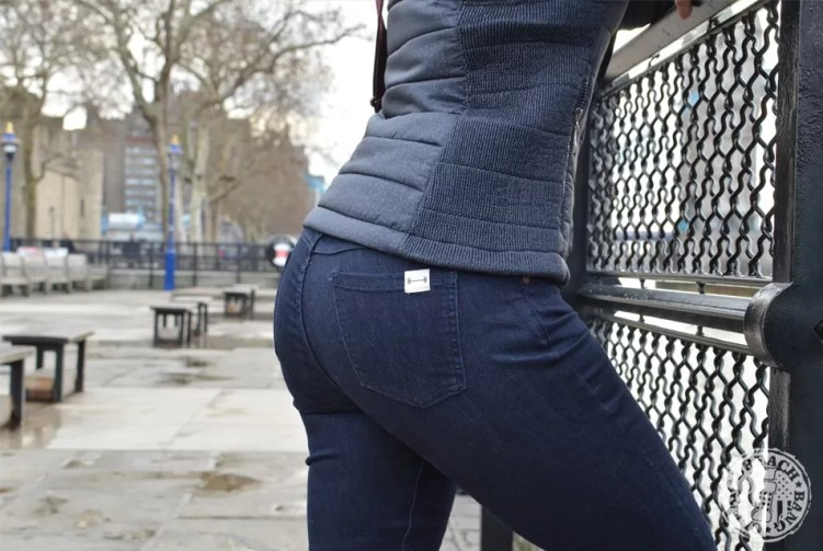 Barbell Apparel jeans - the first part of the Barbell Jeans review was in London.
