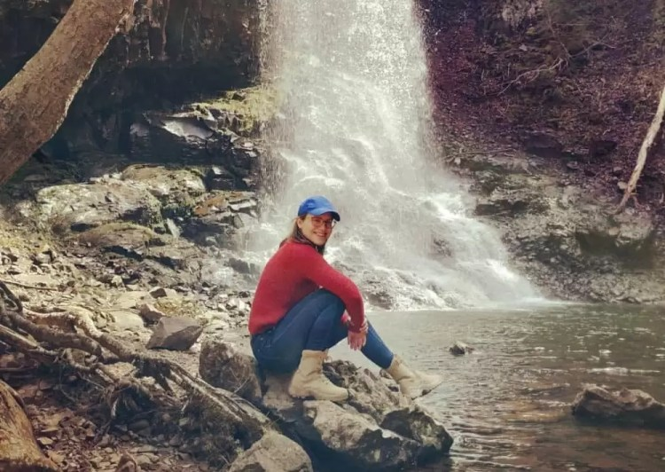 Barbell Apparel jeans hiking in Nova Scotia