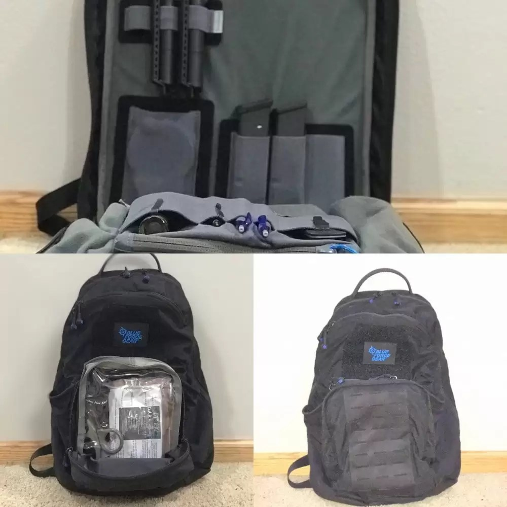 Blue Force Gear Tracer Pack / Backpack; dapper pouch sold separately