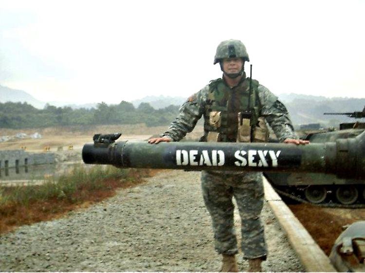 M1A1 Abrams Tank - Dead Sexy - military slang, tanker terms.