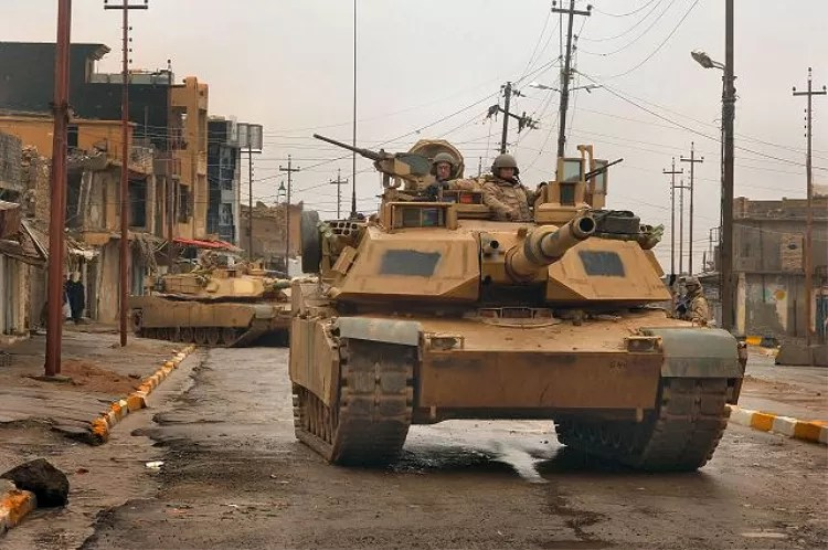 M1A1 Abrams - be sure that the tankers have their own set of military slang.