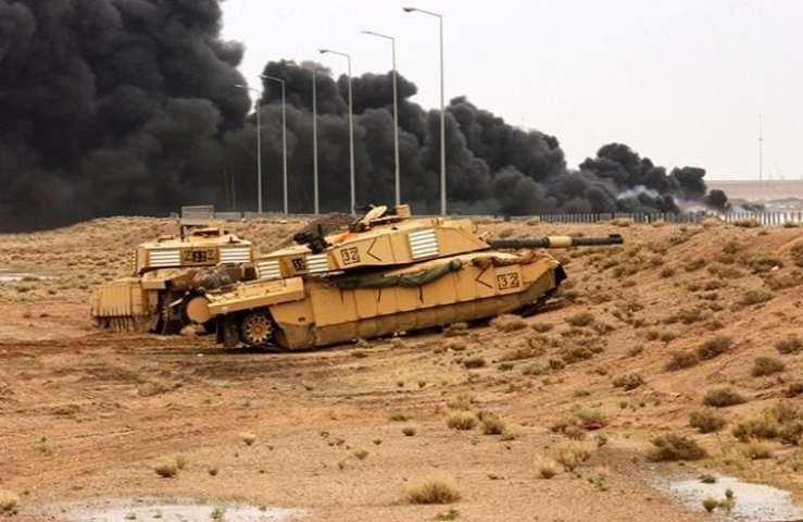 Tanker talk: turret down