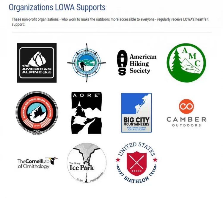 LOWA supports these organizations. Gear review by Bucky Lawson for Breach-Bang-Clear.
