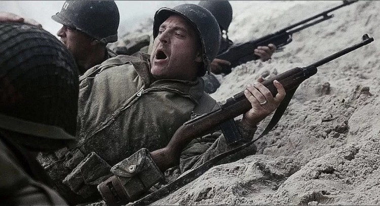 M1 Carbine in Saving Private Ryan