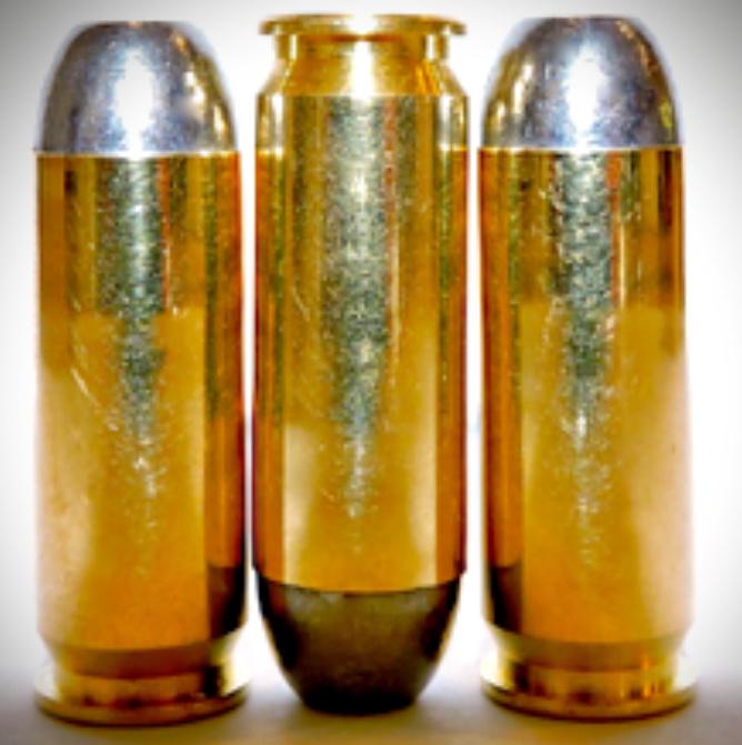 45 Winchester Magnum - 45 Caliber.