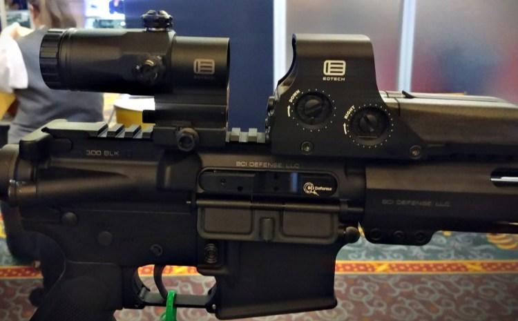 EOTECH G30 Magnifier - seen at SHOT Show 2020.