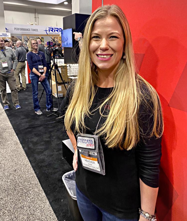 Real Women of SHOT - Heather Miller - STI Guns.