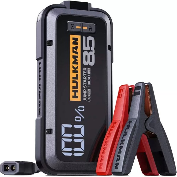 A portable battery charger makes an excellent gift for new drivers.