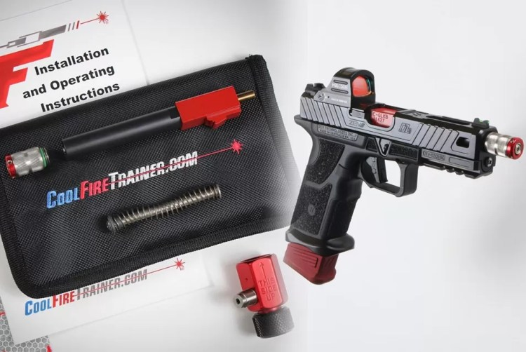 The CoolFire CO2 Laser Trainer provides recoil and lasers. What more could you want?