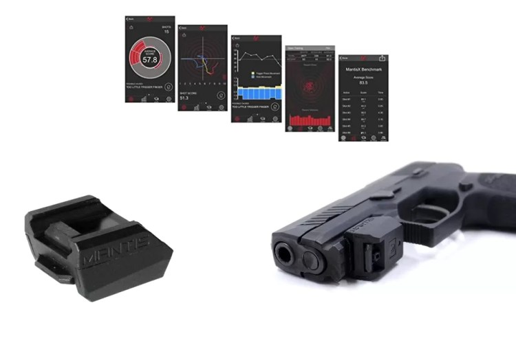 The MantisX Dry and Live Fire Training System is like a personal trainer on your firearm.