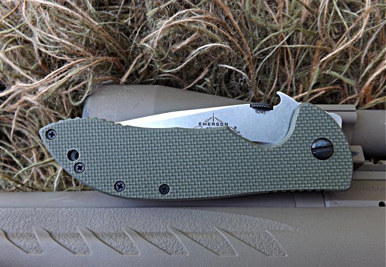 Emmerson Commander folding knife - pocket carry.