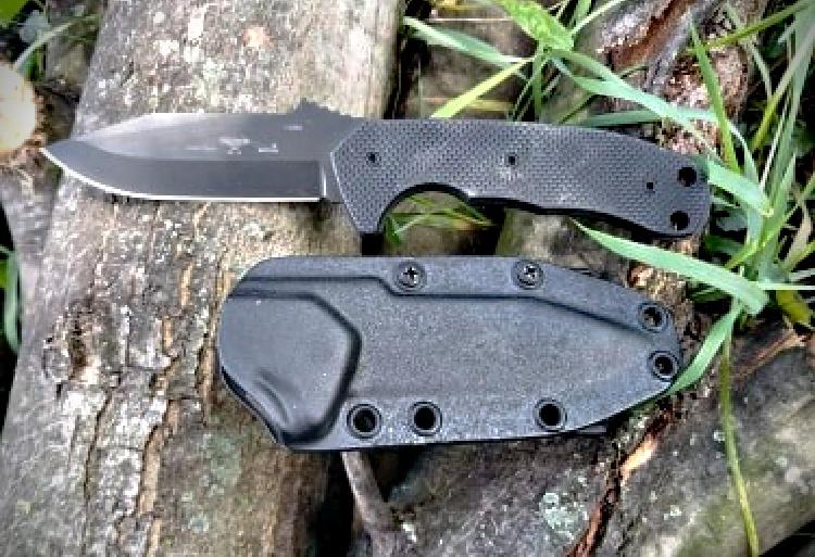 Emerson Police Utility Knife and sheath.