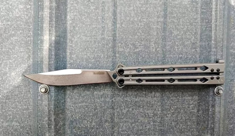 Kershaw Lucho balisong (butterfly knife)