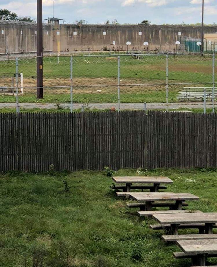 prison exercise yard