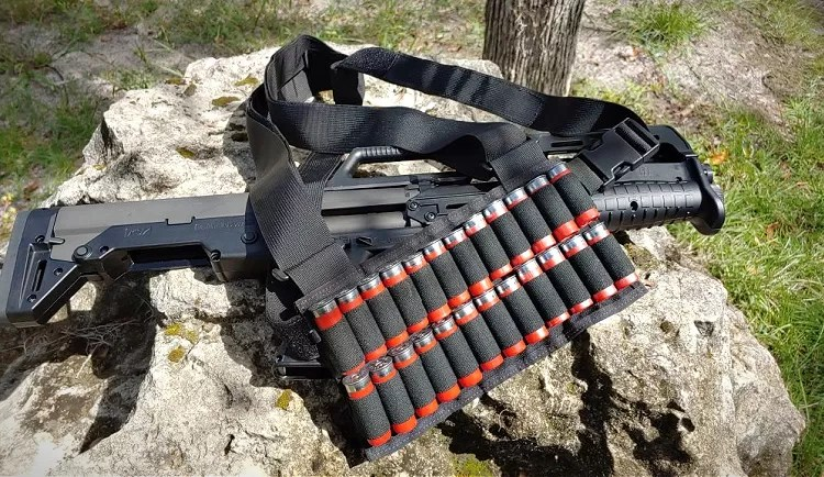 The Gadsen Dynamics Partisan Chest Rig - Shotgun Edition