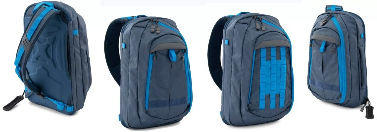 Commuter sling in blue