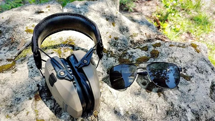 5.11 Tactical Tomcat Sunglasses and hearing protection