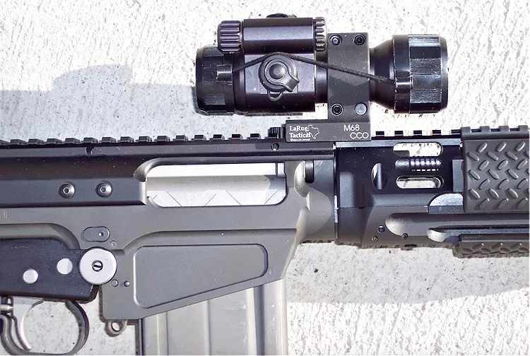 STG 58 with a factory-installed scope mount