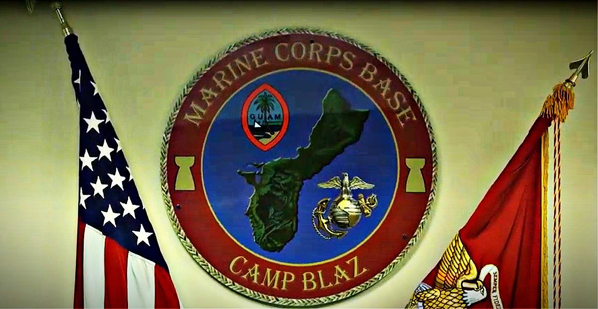 Marine Corps Base Camp Blaz seal