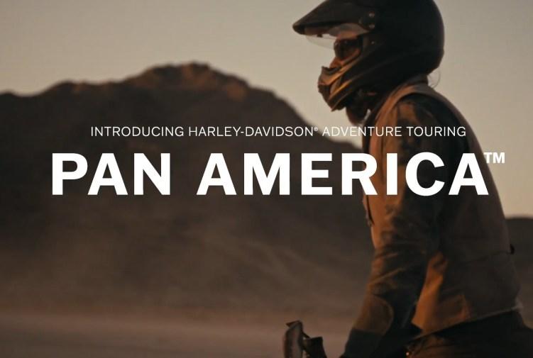 Harley Davidson Pan American adventure touring motorcycle