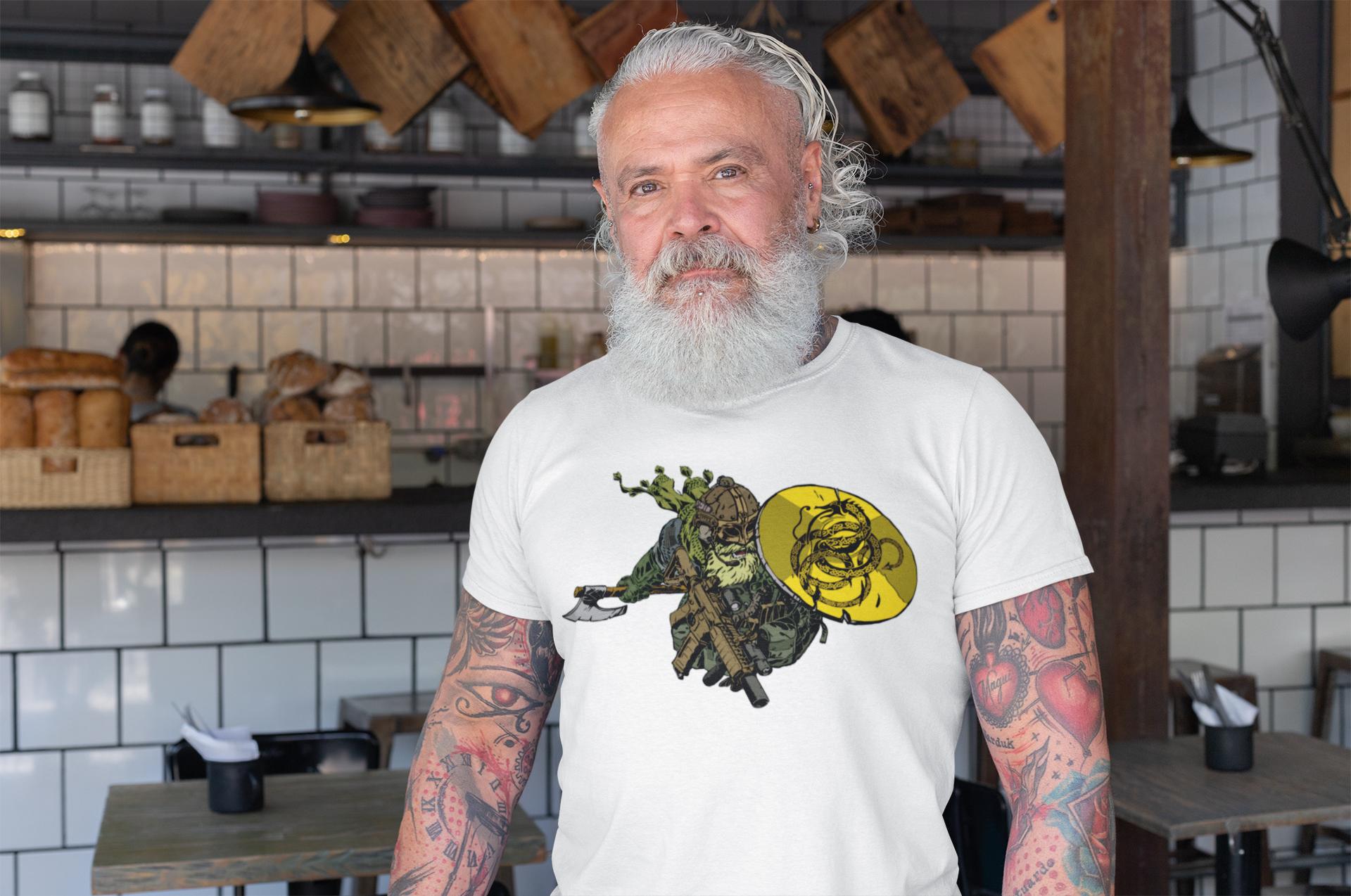 A proper pro Second Amendment warrior shirt