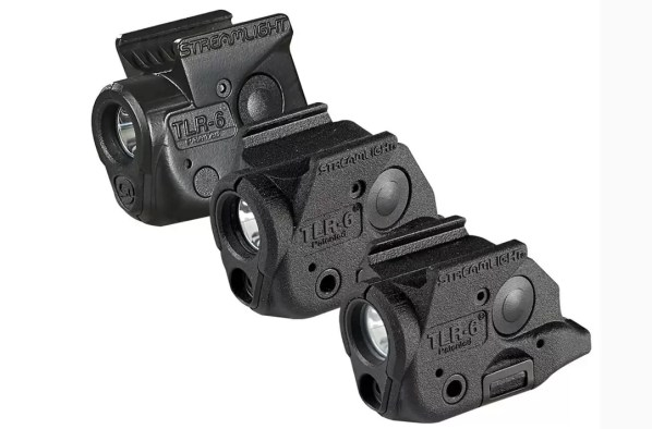 Streamlight weapon lights for micro compact pistols.