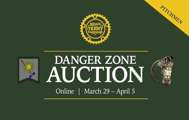 The Danger Zone Auction benefits the Brian Terry Foundation