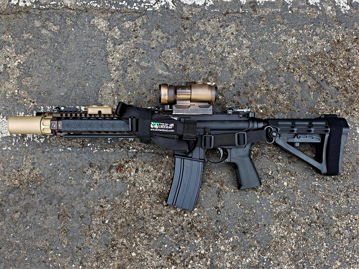 MK18 CQBR clone build
