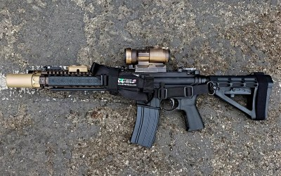 My first Clone Build: the MK18 CQBR