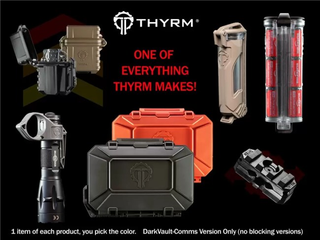 House Thyrm, a donor to the Danger Zone Auction, is a member of the House Morningwood Tactical Alliance.