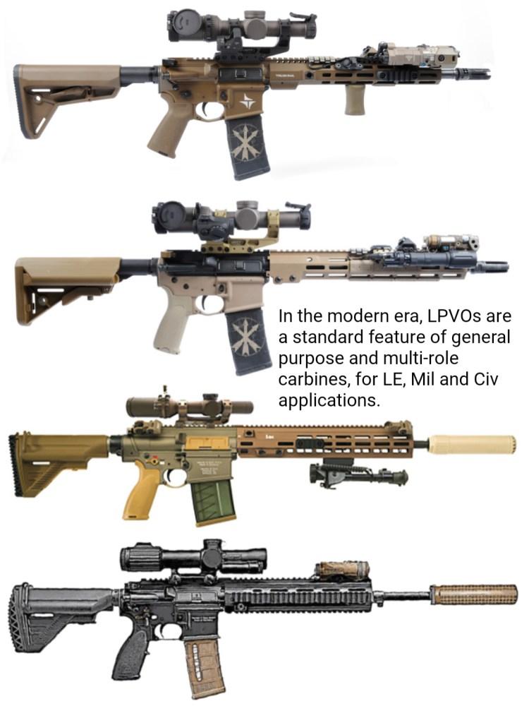 Assaulter & Mil LPVO