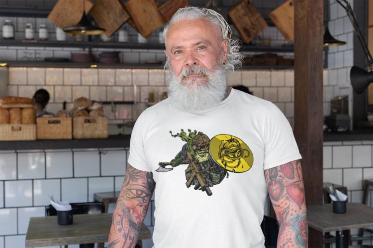 A modern American viking: dont tread on me