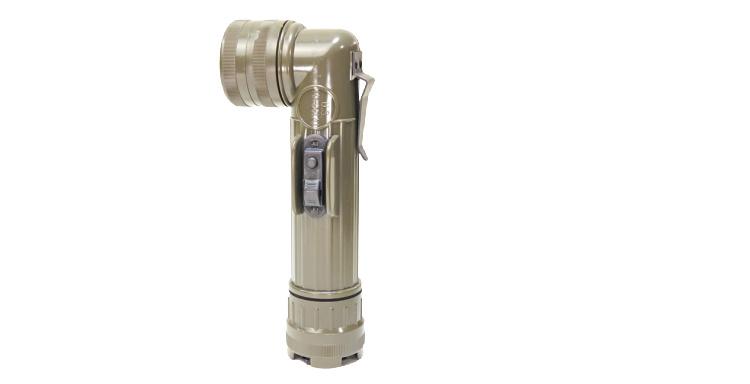 military flashlight, Fulton Industries Olive Drab
