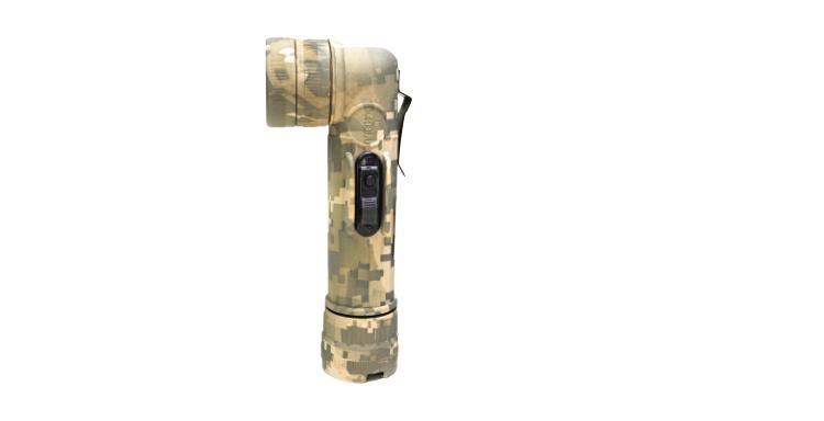 military flashlight, Fulton Industries Digital Camo