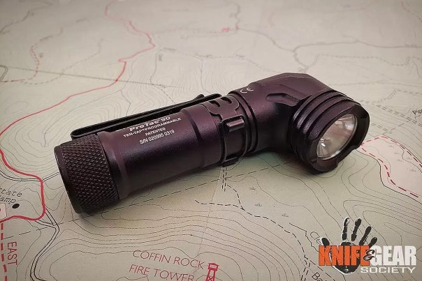 The Streamlight ProTac 90X (shown here in an image from a review on @knifeaandgearsociety) retains the older shape, but throws a thousand lumens with much more modern technology.