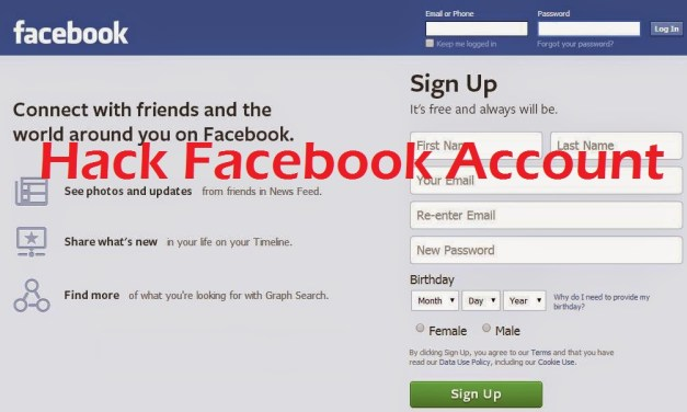 How to Hack Facebook Account through Desktop Phishing?